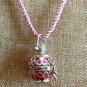 Jewelry - Harmony Ball Necklace on Turkish Silk Cord
